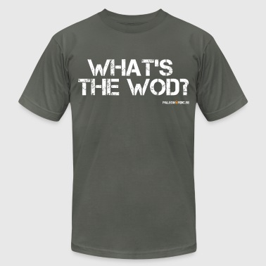 WHAT´S THE WOD? - Men's Fine Jersey T-Shirt