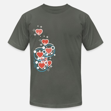 SuperHearts - Men's Fine Jersey T-Shirt