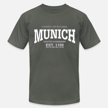 Munich Munich Bavaria Germany (white) - Men's  Jersey T-Shirt