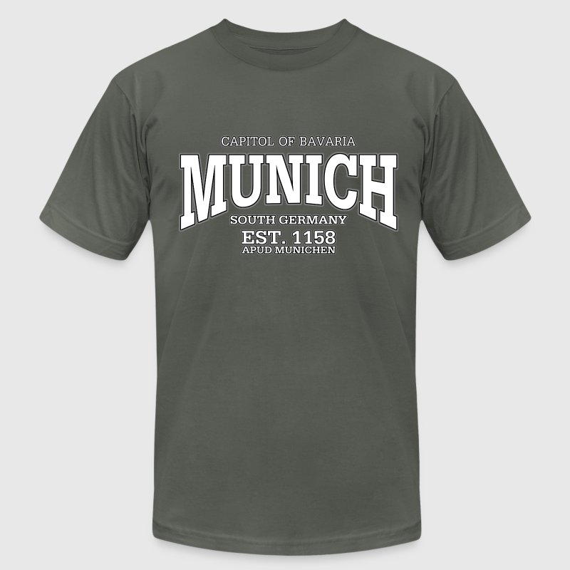 Munich Bavaria Germany (white) - Men's Fine Jersey T-Shirt