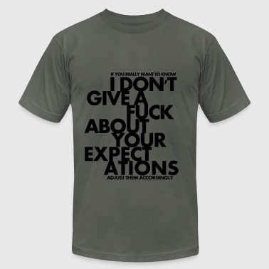Screw Your Expectations - Men's Fine Jersey T-Shirt