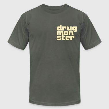 Beer Font Drug Monster Font 1c - Men's Fine Jersey T-Shirt