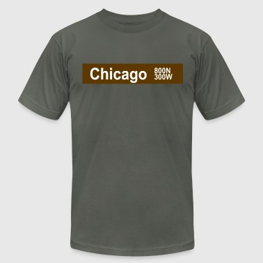 Chicago brown - Men's Fine Jersey T-Shirt