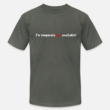 Married But Available N/A - Not available (small not) 2c - Men's  Jersey T-Shirt
