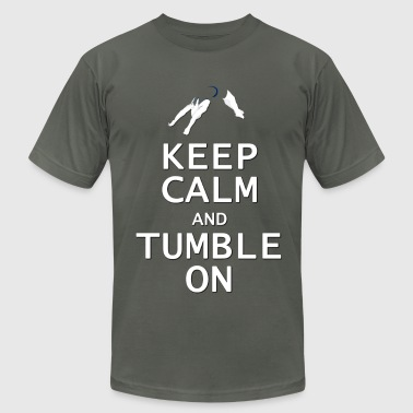 Keep Calm and Tumble On - Men's Fine Jersey T-Shirt