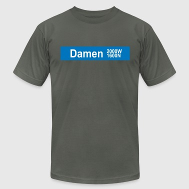 Damen Blue Line - Men's Fine Jersey T-Shirt
