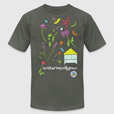 Pollinator and Wildflower Shirt - Men's Fine Jersey T-Shirt