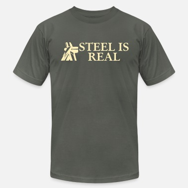 Frame steel is real - Men's  Jersey T-Shirt