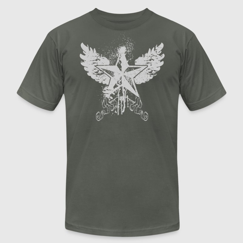 nautical wings designer graphic - Men's Fine Jersey T-Shirt