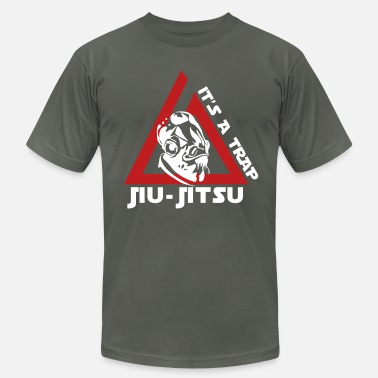 Jiujitsu Jiu Jitsu It's a Trap - Men's  Jersey T-Shirt
