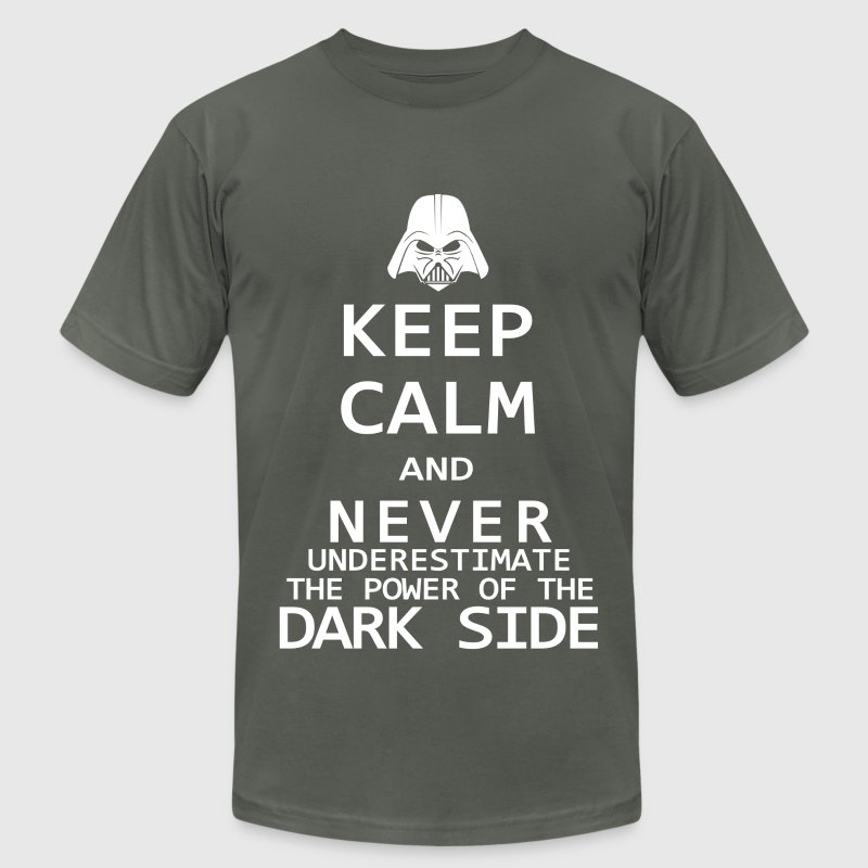 Keep Calm on the Dark Side - Men's Fine Jersey T-Shirt