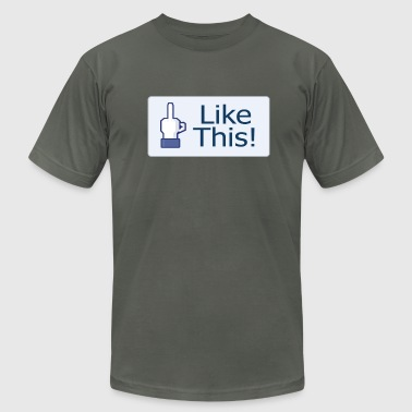 Liking Like This! - Men's Fine Jersey T-Shirt