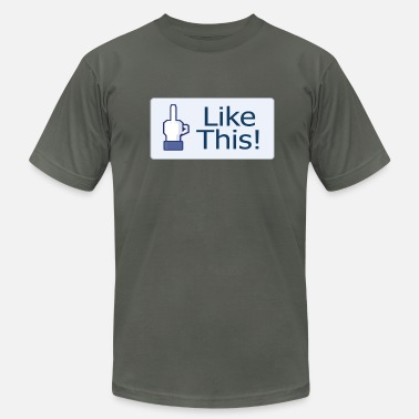 Liking Like This! - Men's  Jersey T-Shirt