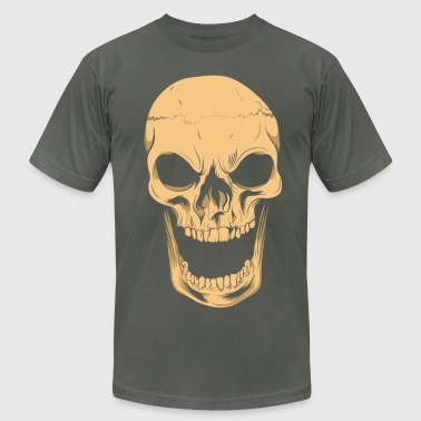 Angry Skull - Men's Fine Jersey T-Shirt