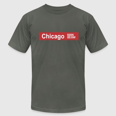Chicago CTA - Men's Fine Jersey T-Shirt