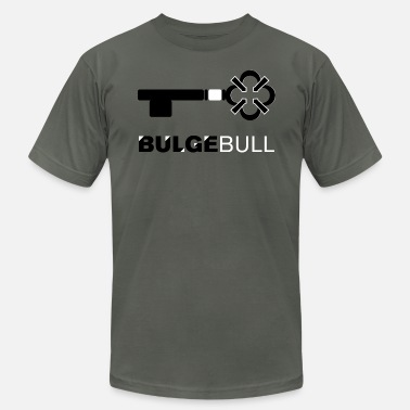 Gay Bulge bulgebull_medkey - Men's Fine Jersey T-Shirt