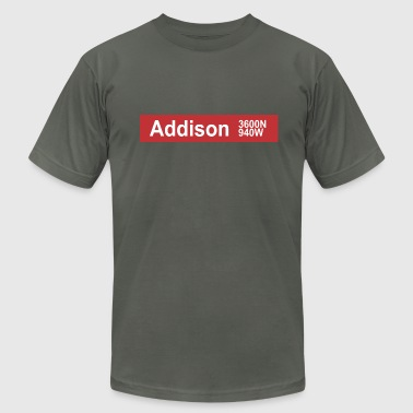 Addison CTA - Men's Fine Jersey T-Shirt