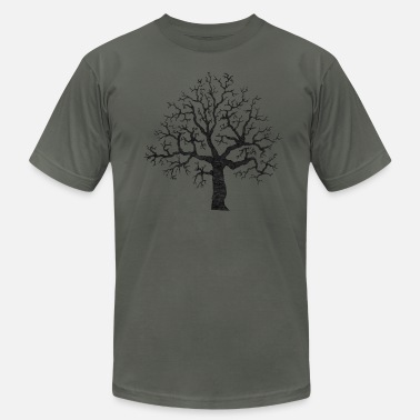 Roots Tree Design Roots Tree Design - Men's Fine Jersey T-Shirt