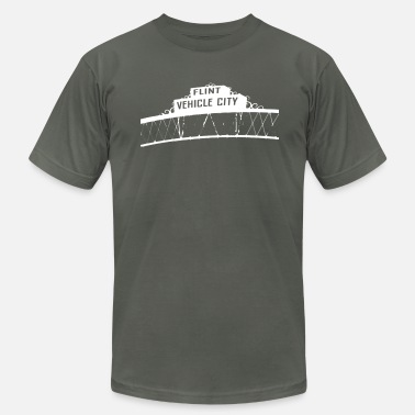 Flint Flint Vehicle City - Men's  Jersey T-Shirt