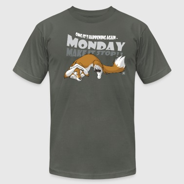Monday - Make it stop! - Men's Fine Jersey T-Shirt