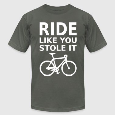 ride like you stole it - bicycle - Men's Fine Jersey T-Shirt