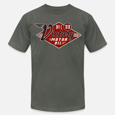 American Pickers Victory Motor Oil - Men's Jersey T-Shirt