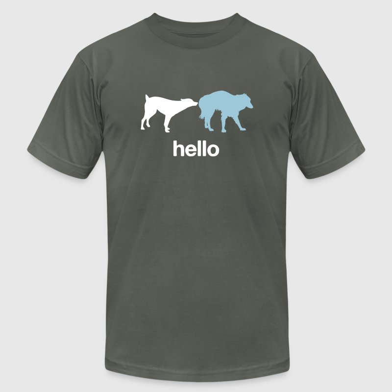 Hello - Men's Fine Jersey T-Shirt