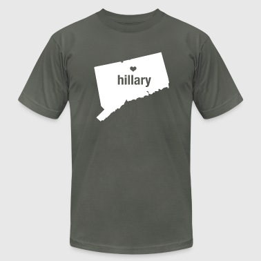 Connecticut Loves Hillary - Men's Fine Jersey T-Shirt