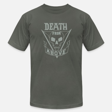 Starship Troopers deathfromabove - Men's Fine Jersey T-Shirt