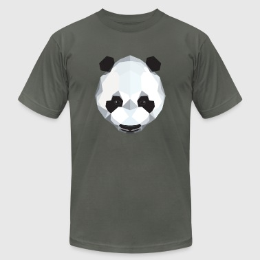 Polygon Panda - Men's Fine Jersey T-Shirt