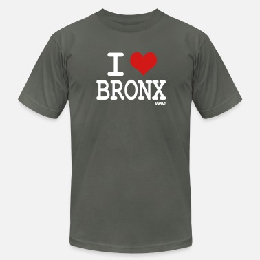 I Heart The Bronx i love bronx NYC by wam - Men's Fine Jersey T-Shirt