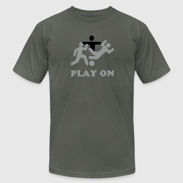 No foul, play on - Men's Fine Jersey T-Shirt