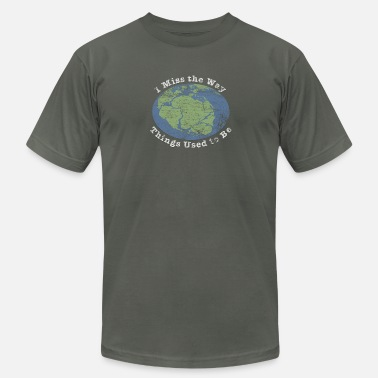 Pangea I Miss The Way Things Used To Be - Men's  Jersey T-Shirt