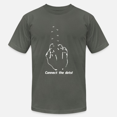 Connect Connect the Dots - Fuc$ You Middle Finger - Men's  Jersey T-Shirt