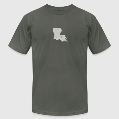 Baton Rouge - Men's Fine Jersey T-Shirt