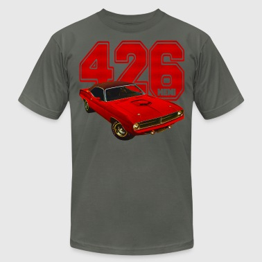 Barracuda 426 hemi - Men's Fine Jersey T-Shirt