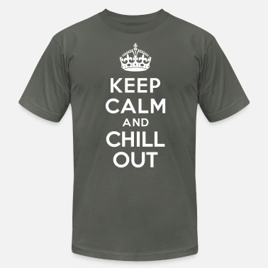 Chill Out Keep calm and Chill out - Men's  Jersey T-Shirt