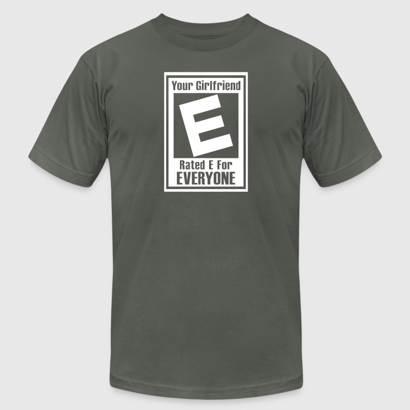 Rated E For Everyone - Men's Fine Jersey T-Shirt