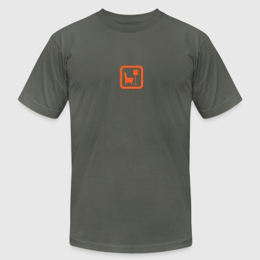 library - Men's Fine Jersey T-Shirt