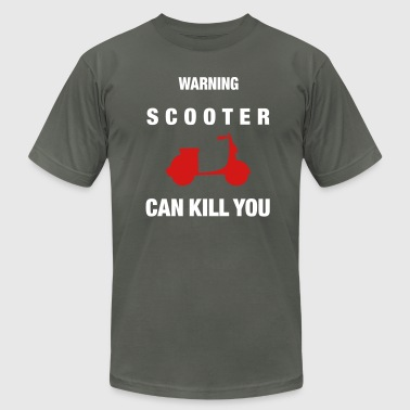 can_kill_you_scooter_vec_2 us - Men's Fine Jersey T-Shirt