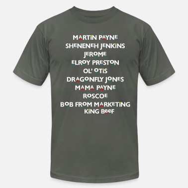 Martin Lawrence Martin Characters  - Men's Jersey T-Shirt