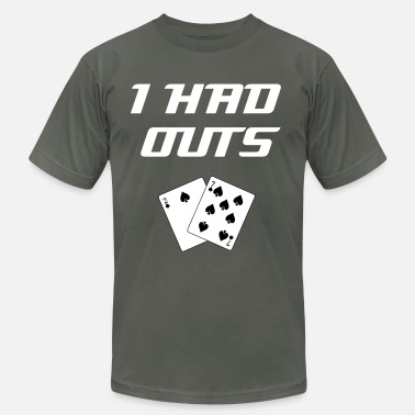 Poker I Had Outs (White): Top 10 Bad Beat Poker Excuses - Men's  Jersey T-Shirt