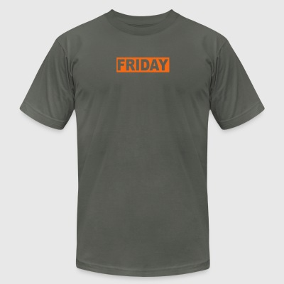 FRIDAY - Men's T-Shirt by American Apparel