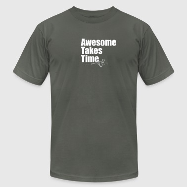 Awesome Takes Time AA - Men's Fine Jersey T-Shirt