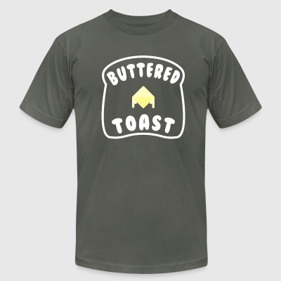 Buttered Toast - Men's T-Shirt by American Apparel