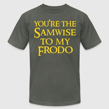Samwise to your Frodo - Men's Fine Jersey T-Shirt