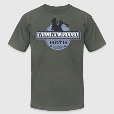 Tauntaun Rodeo - Men's Fine Jersey T-Shirt
