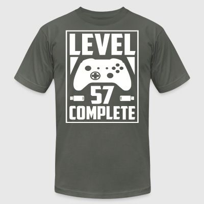 Level 57 Complete - Men's T-Shirt by American Apparel
