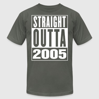 Straight Outa 2005 - Men's T-Shirt by American Apparel