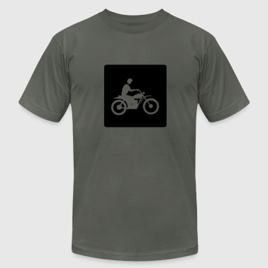 motorcycle-moped-vehicle-mode of transport - Men's Fine Jersey T-Shirt